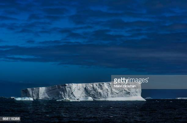 Iceberg floating in Anatarctica