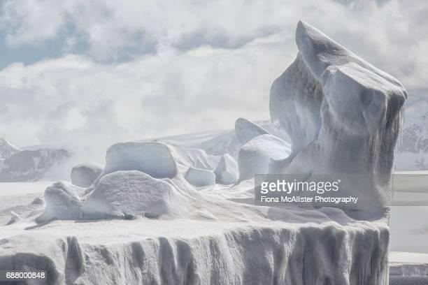 Iceberg Formation, Antarctica