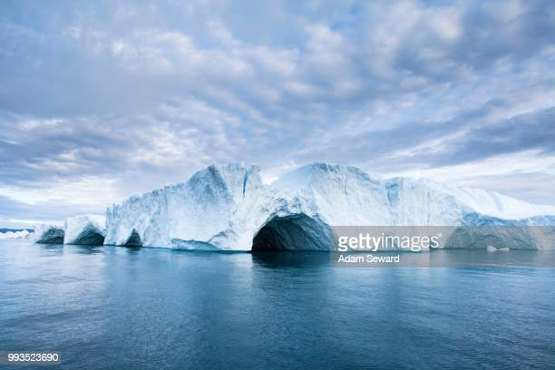 iceberg, ilulissat, greenland - ilulissat stock-fotos und bilder
