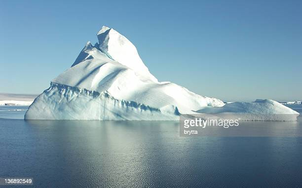 iceberg in antarctica - south pole stock pictures, royalty-free photos & images