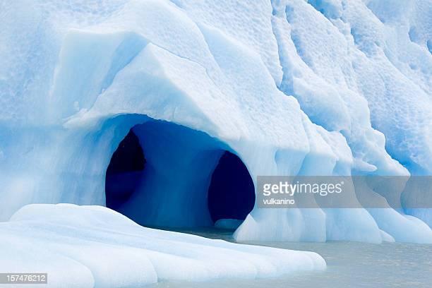 氷山で南極大陸