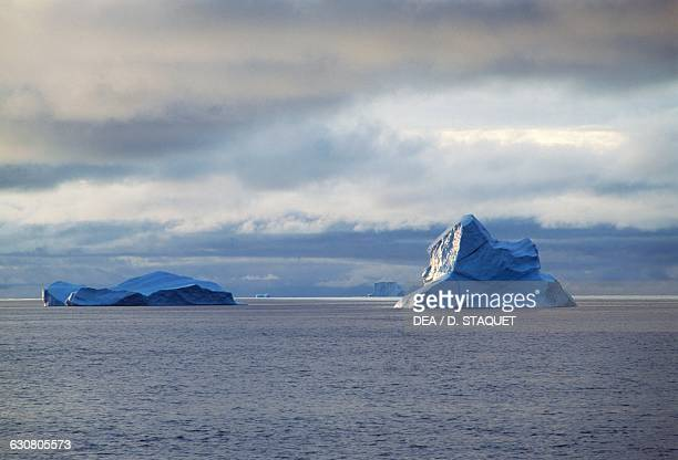 Iceberg in Disko bay Qaasuitsup Greenland