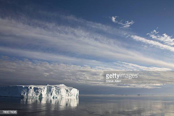 iceberg in drake passage between south america and antarctica - drake passage stock photos and pictures
