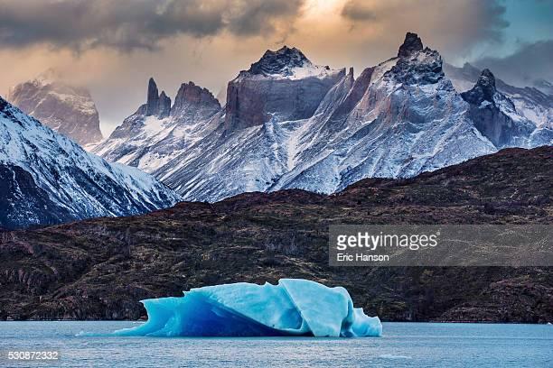 Iceberg in Patagonian Lake