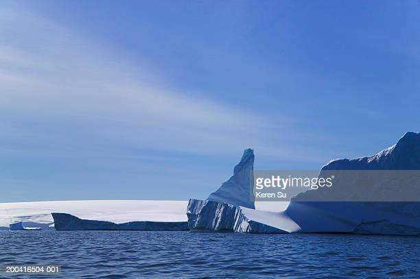 iceberg landscape - south orkney island stock pictures, royalty-free photos & images