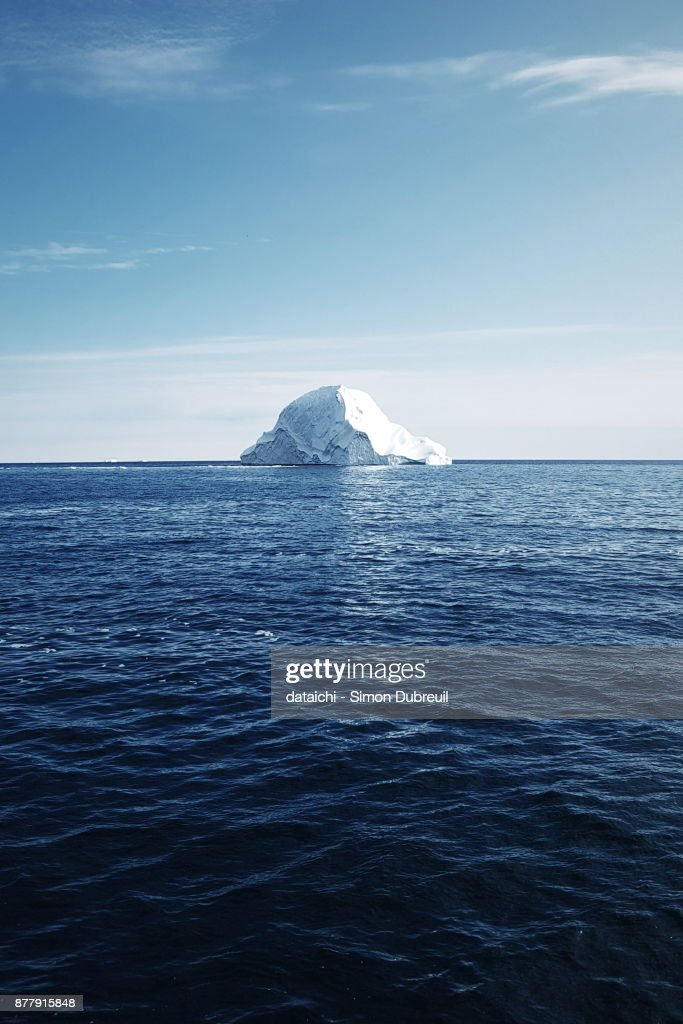 Iceberg near Kuannit on Diko Island : Foto de stock