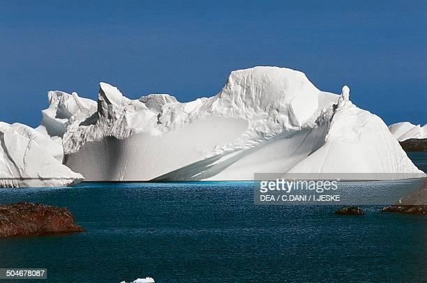 Iceberg near the Ukrainian Station Akademik Vernadsky Antarctic Peninsula Antarctica