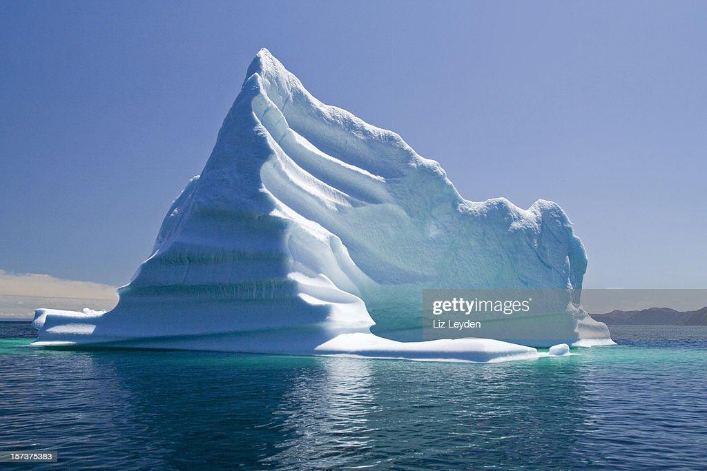 Iceberg, Terranova y la Bahía de Trinity, Canadá : Foto de stock