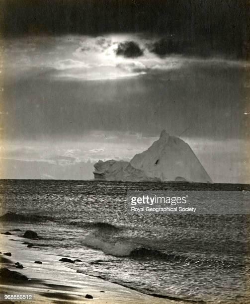 Iceberg off Cape Evans Antarctica March 1911 British Antarctic Expedition 19101913