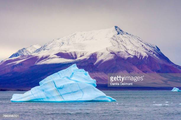 Iceberg on Antarctic Sound, King Oscar Fjord, Greenland National Park, Denmark