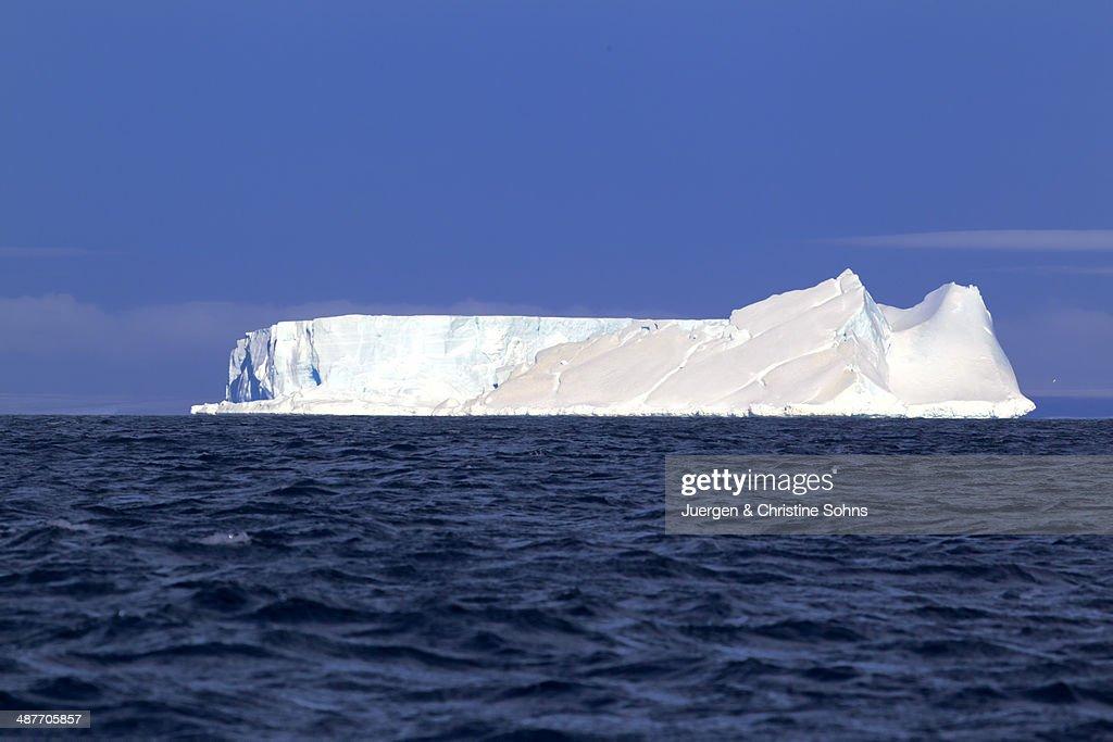 Iceberg, Weddell Sea, Antarctica : Foto de stock