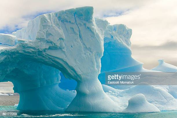 iceberg with arches, Antarctic Peninsula