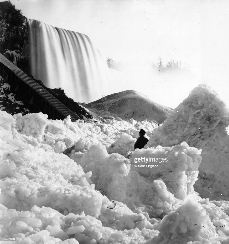 Historical Images Of A Frozen Niagara Falls
