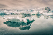 still waters glacial lagoon known as