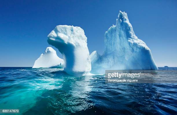 Icebergs in Bonavista Bay As more icebergs drift south due to climate change a few enterprising seafarers have begun harvesting their ice for...