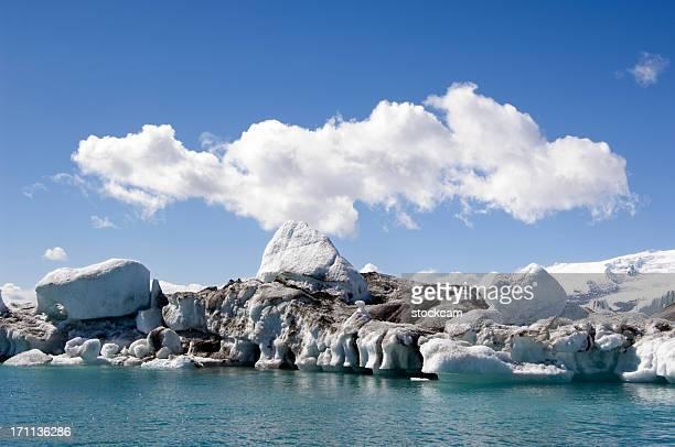 アイスランドに icebergs - retreating ストックフォトと画像