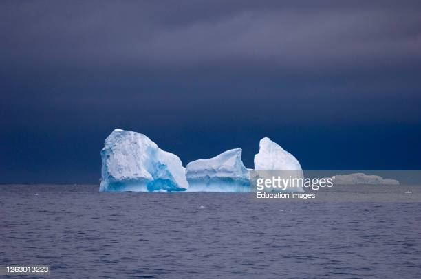 Icebergs in the Southern Ocean, Antarctica.