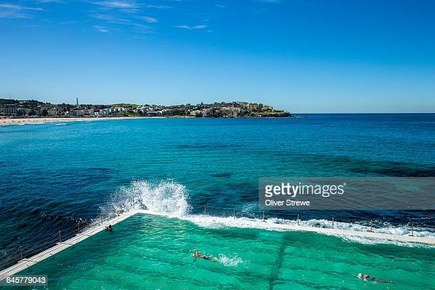 icebergs pool - sydney stock pictures, royalty-free photos & images