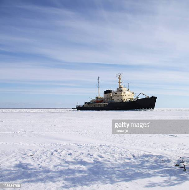 Kennenlernspiel in icefield polar Region