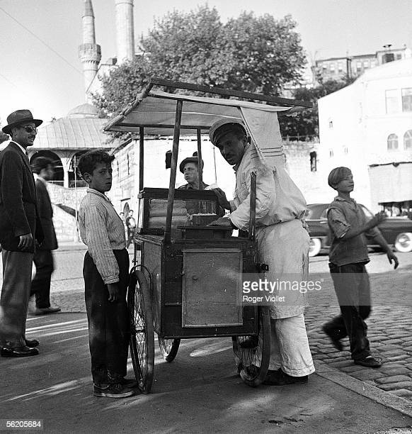 Icecream seller June 1952