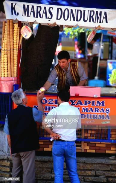 Icecream seller near Spice Market.