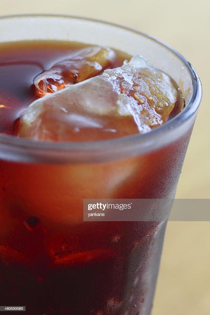 Café con hielo : Foto de stock