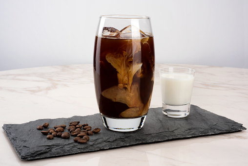 Iced Coffee with Milk - gettyimageskorea