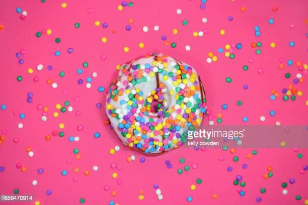 iced ring doughnut donut