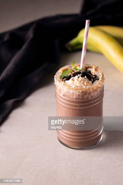 iced smoothie drink - frozen stock pictures, royalty-free photos & images