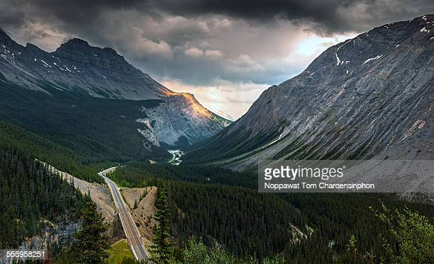 Icefield Parkway in Canada