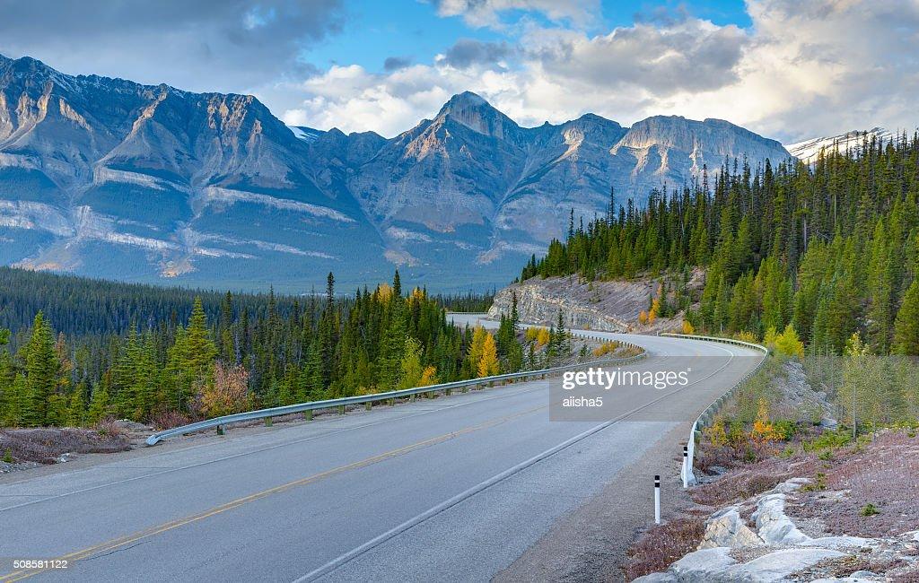 Icefields Parkway, Canada : Stockfoto