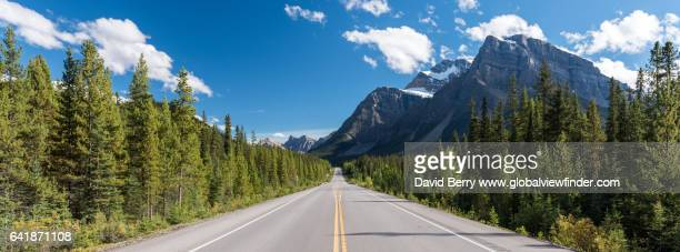 icefields parkway road trip - banff national park stock pictures, royalty-free photos & images