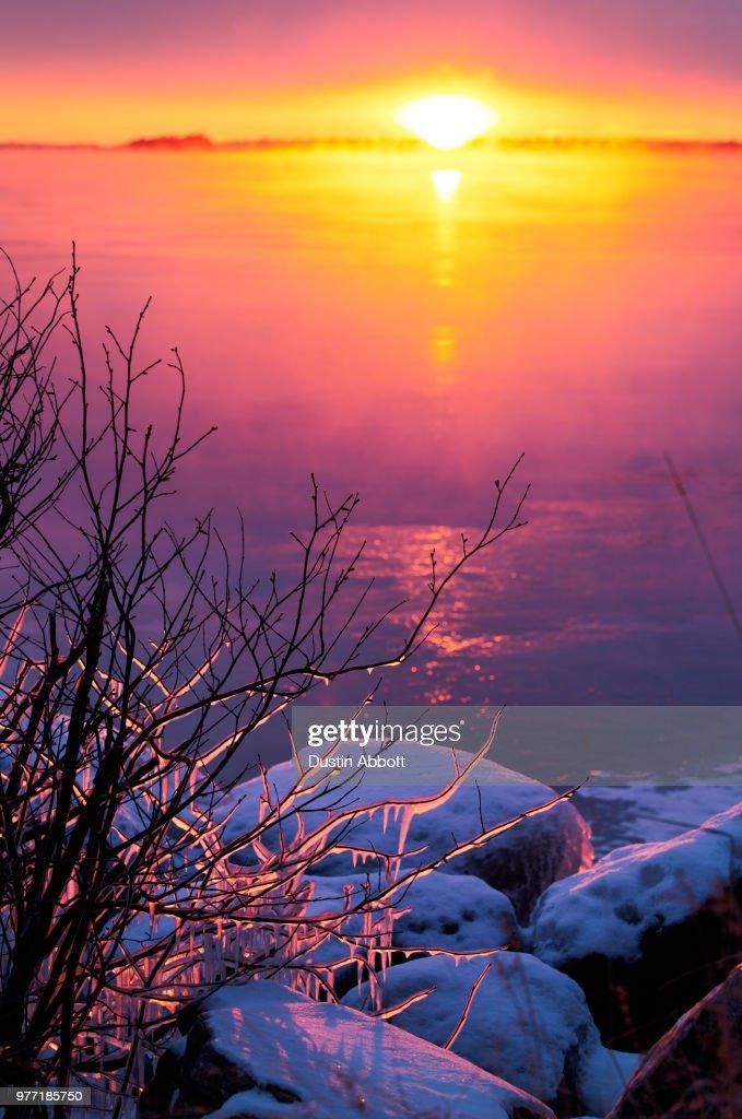 Icefire : Stock Photo