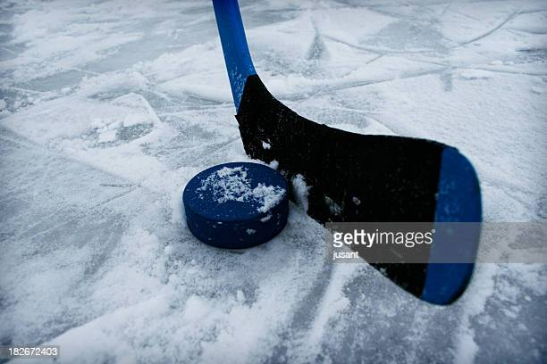 ice-hockey stick 2 - ice hockey stick stock pictures, royalty-free photos & images