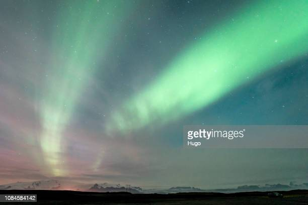 iceland diamond beach - north stock pictures, royalty-free photos & images