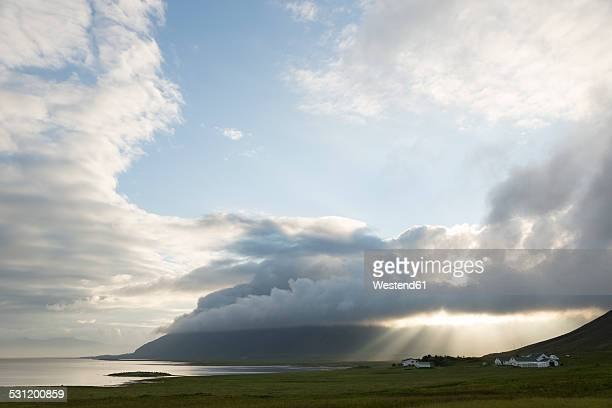 iceland, eastfjords - austurland stock pictures, royalty-free photos & images