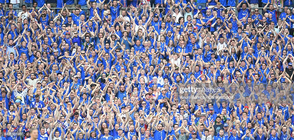 Iceland v Austria - Group F: UEFA Euro 2016 : News Photo