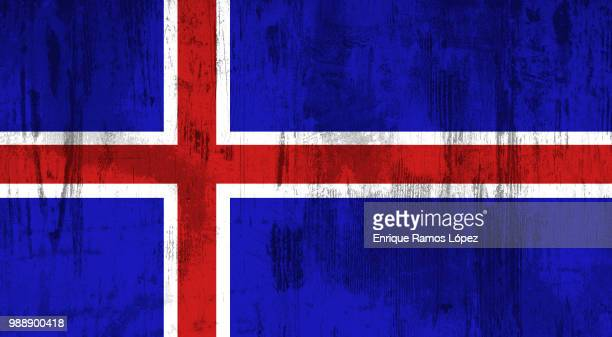 iceland flag - modern rock stock pictures, royalty-free photos & images