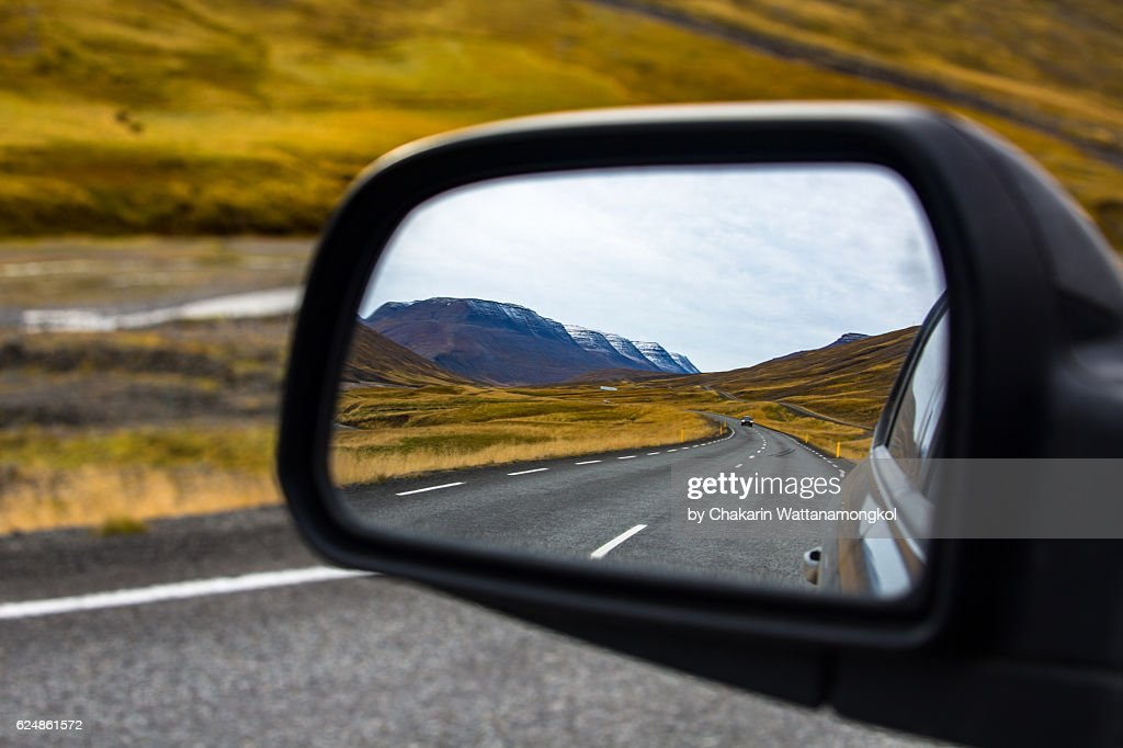 Iceland in the Mirror : Stock Photo
