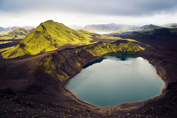 Iceland Mountain Lake