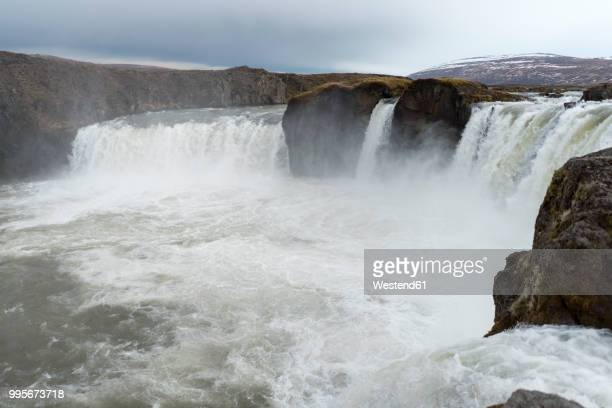 Iceland, North of Iceland, waterfall