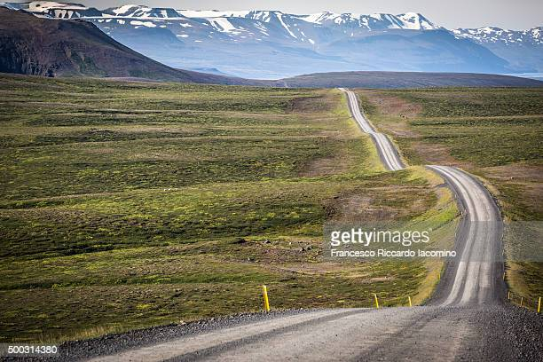 Iceland, on the road