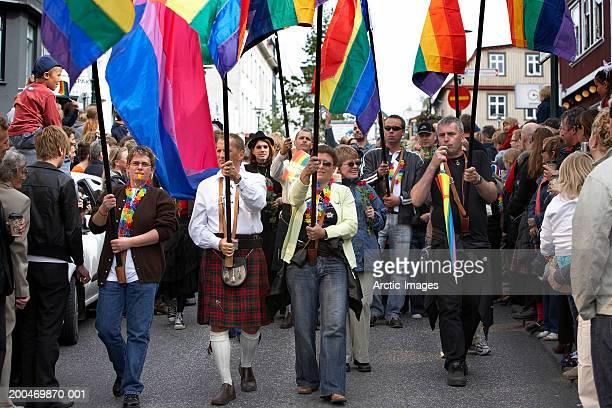 Iceland, Reykjavil, Gay Pride Parade