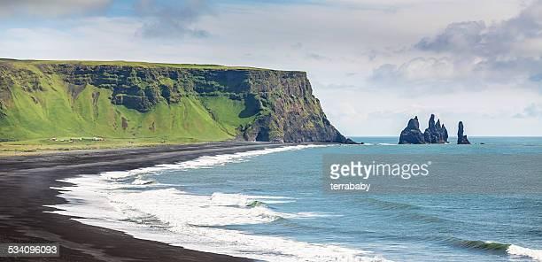 Iceland Reynisdrangar Sea Stacks at Vik