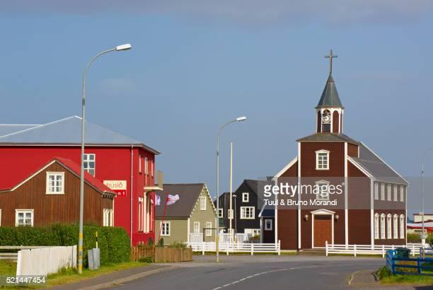 Iceland, Selfoss area, Eyrarbakki