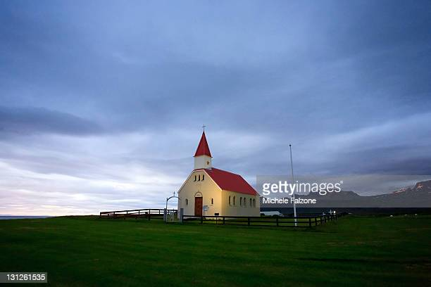 Iceland, Snaefellsness Peninsula, church