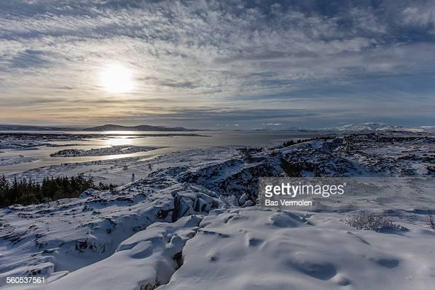 iceland, thingvellir - thingvellir stock photos and pictures