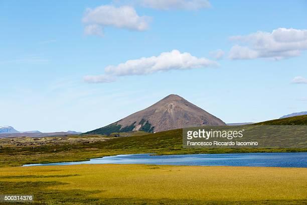 Iceland, volcanic landscape