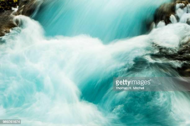 iceland-bruarfoss - brook mitchell stockfoto's en -beelden