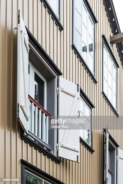 Isländische Fassade
